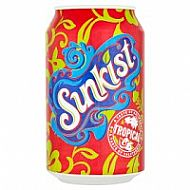 Sunkist tropical can