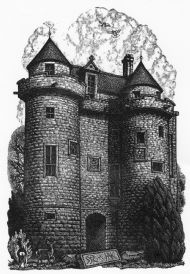 Falkland palace gatehouse