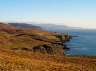 Cliff walk to Lorgill
