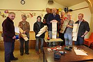 Bat box workshop participants