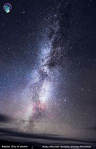 Milky Way over Quoyloo, Orkney Mainland