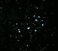 M45: The Pleiades  09/2002 - Maarten de Vries