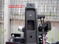 az-3 has handy pre-drilled non-threaded holes