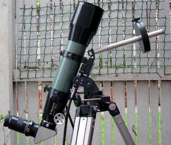 ready to go observing near zenith!