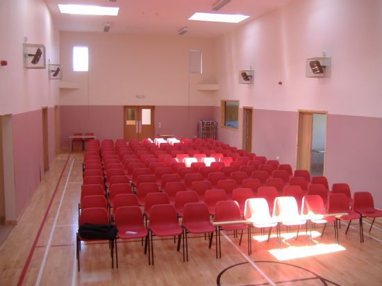 minginish community hall - main hall