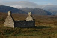 RUINED COTTAGE, SUTHERLAND