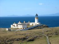 Neist Point Lighthouse close up