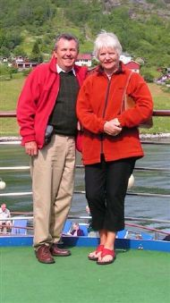 Brian Goldacre & Wife Cyndy