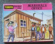TIMPO WILD WEST MARSHALLS OFFICE BOXED
