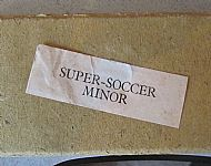 Super Soccer early Minor set