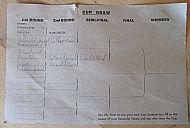FA cup draw sheet