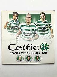 Celtic 2003/04 medals