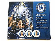 Chelsea medals 2004/05