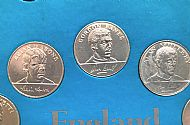 ESSO 1970 coins