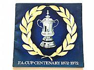 ESSO FA Cup blue folder