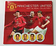Man United medals 2005/06