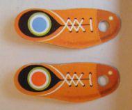 Wooden flipper boots