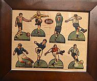 Hobbies Ltd footballers printed sheet