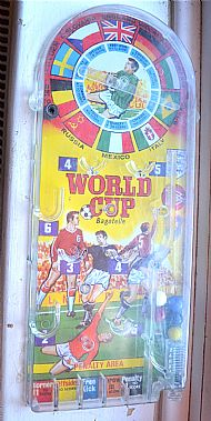 Marx world cup bagatelle