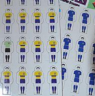 Team sheets