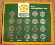 Shell Mexico 70 Germany board and coins