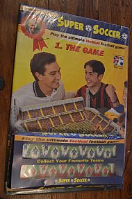 Super Soccer unused game set