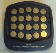 Texaco Famous Footballers 1969