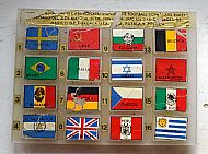 1970 World Cup country flags