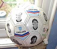 England players ball