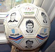 1986 World Cup England ball