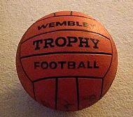 Wembley Trophy football