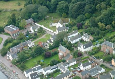 cromarty from the air: photo by calum davidson