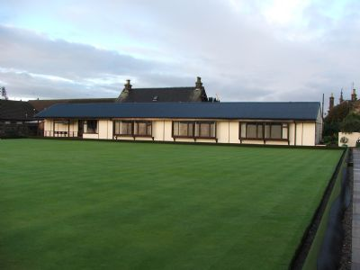 the clubhouse and green