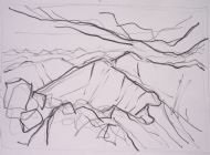 Cruachan Ridge Drawing