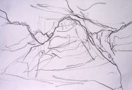Glen Coe Drawing