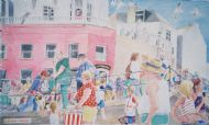 Lyme Regis Seafront crowd ( Sold)