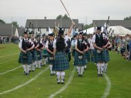 Opening of the Lochaber games