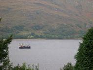 Puffer heading up the loch (mair steam MacPhail)