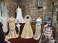 wedding dresses parish flower festival weare june 2019