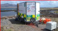 BDMLR Incident Command Unit on site