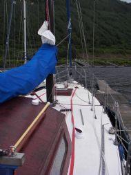 Designed for single Handed Sailing.