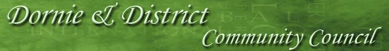 Dornie & District Community Council