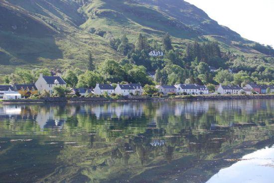 dornie village from camuslongart