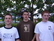 Ross County Under 17's Trio win at Halliburton Final, Dundee 2003