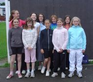 Under - 13 Girls       19/08/08