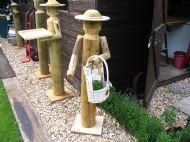 Gloria, the garden helper.