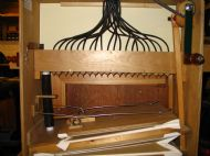 Rear view of organ.