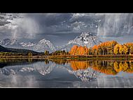 John R Simpson Award<br>Autumn Light, Oxbow Bend