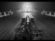 John R Simpson Award<br>Foggy Night, Cromer Pier