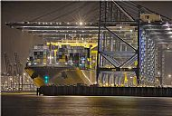MSC Fabiola, Felixstowe Dock